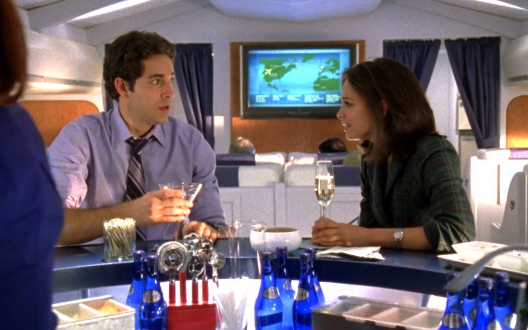 Chuck 3.05 First Class Airplane Scene