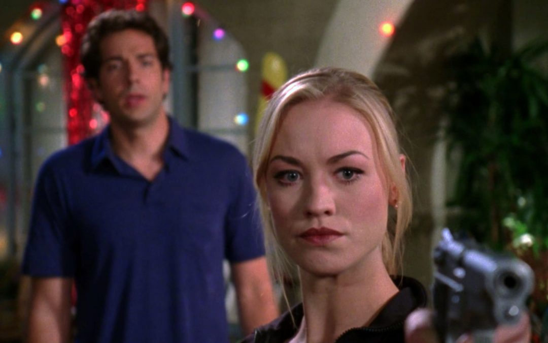 3.02 Three Words - Chuck and Sarah in the courtyard