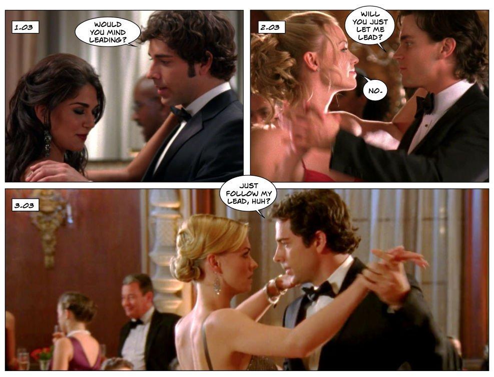 Chuck Sarah season 3 relationship dance