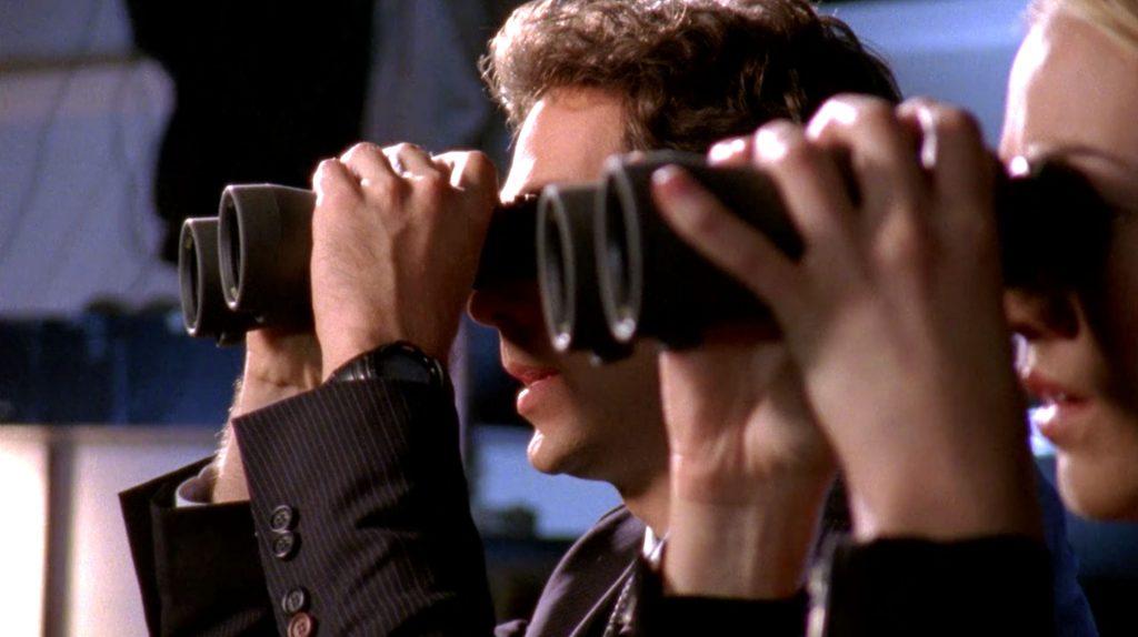 Chuck and Sarah Binoculars