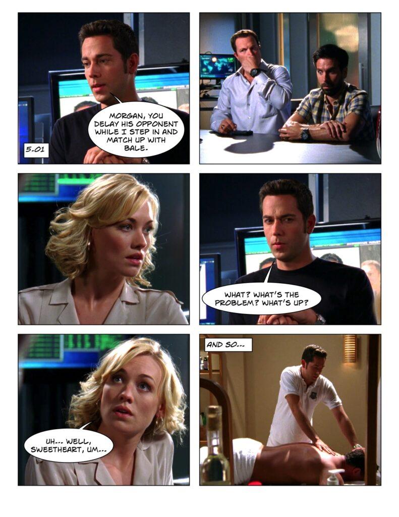 5.01 Chuck does Morgan's job