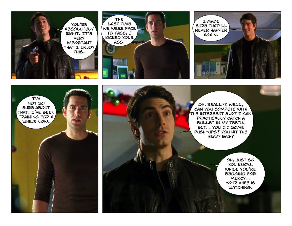5.07 Shaw taunts Chuck