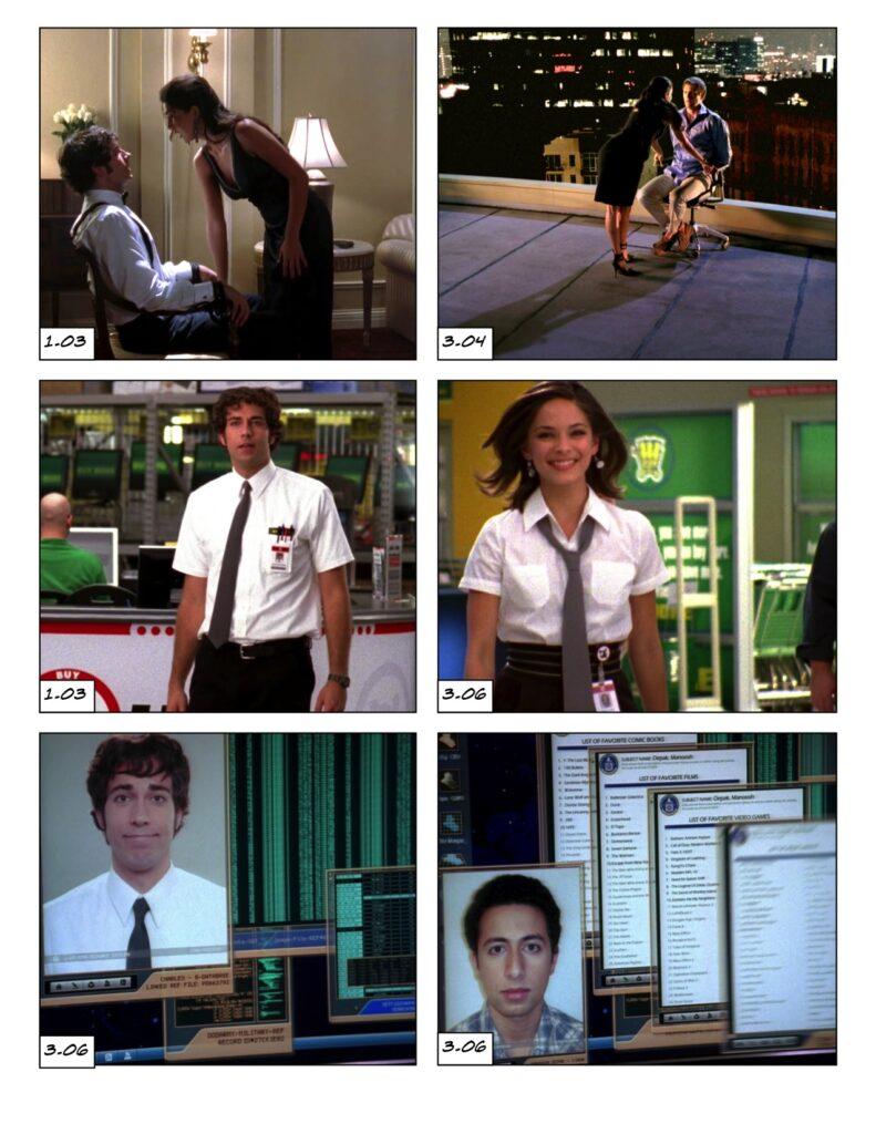 Season 3 Chuck becomes a handler